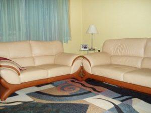 Перетяжка кожаной мебели в Одинцово